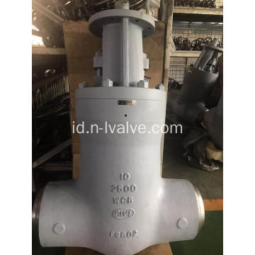 Tekanan Seal Carbon Steel Gate Valve